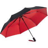 AC mini umbrella FARE®- Doubleface - black/red