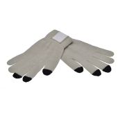 1868 Touchscreen gloves met label