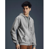 Adult Fashion Full-Zip Hooded Sweat