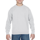 Gildan Sweater Crewneck HeavyBlend for kids White XL
