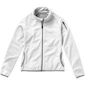 Drop Shot fleece dames jas met ritssluiting - Wit - S