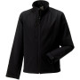 Men's softshell jacket black xl