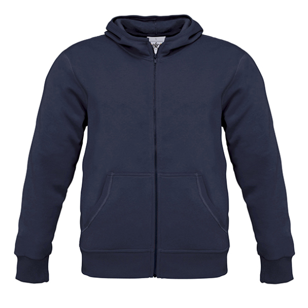 Men Hooded Zip Sweat - WM645
