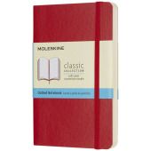 Classic PK softcover notitieboek - stippen - Scarlet rood