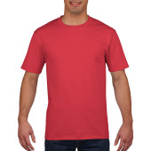 Gildan T-shirt Premium Cotton Crewneck SS for him Red XXL