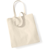 Canvas classic shopper natural one size