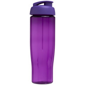H2O Tempo® 700 ml sportfles met flipcapdeksel - Paars