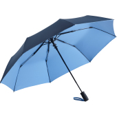 AC mini umbrella FARE®- Doubleface - navy/light blue