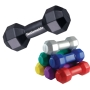 Anti-stress dumbbell gewicht Zwart