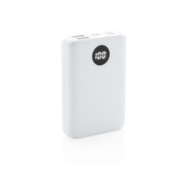 10.000 mAh zakformaat powerbank met triple input
