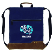 Drawstring Backpack  BO dark blue