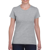 Gildan T-shirt Heavy Cotton SS for her Sports Grey S