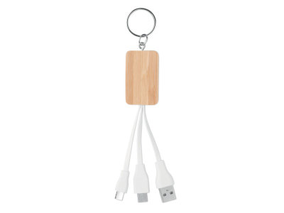CLAUER - Bamboo 3-in-1 cable