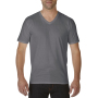 Gildan T-shirt Premium Cotton V-Neck SS for him Charcoal XXL