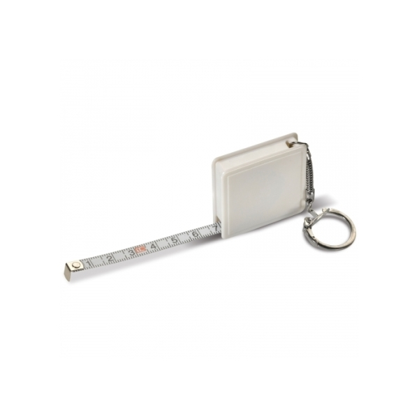 Tape measure key ring 1m
