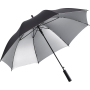 AC regular umbrella FARE®-Doubleface - black/silver
