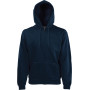 Classic hooded sweat jacket (62-062-0) deep navy l