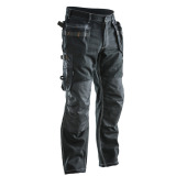 Jobman 2200 Trousers cotton hp zwart D084
