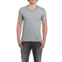 Gildan T-shirt V-Neck SoftStyle SS for him Sport Grey XXL