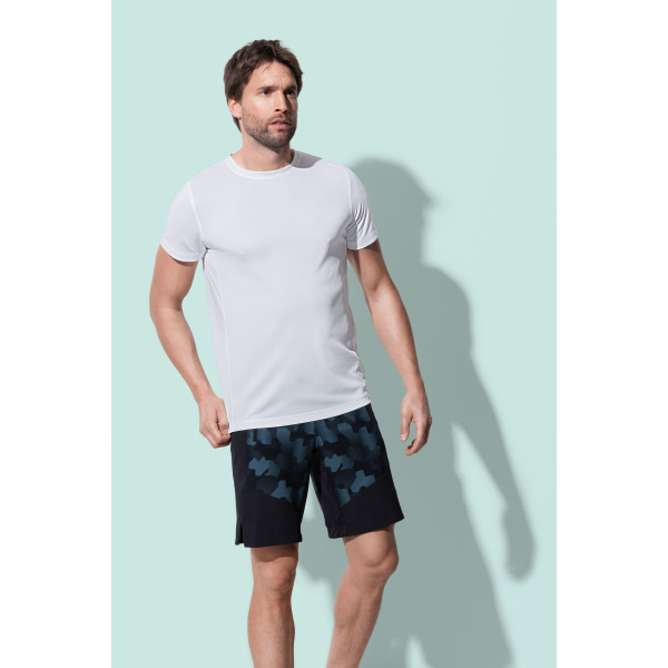 Stedman T-shirt Set-in Mesh Active-Dry SS for him