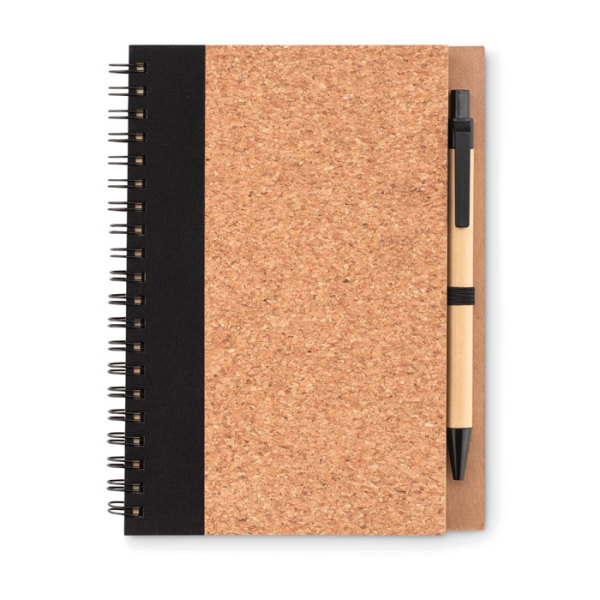 SONORA PLUSCORK - Cork notebook with pen
