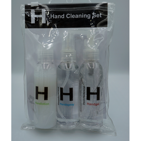 Hand cleaning set 3-delig