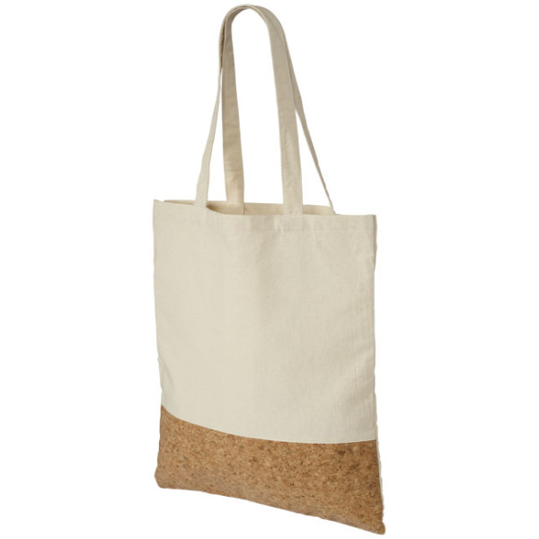 Cory 175 g/m² cotton and cork tote bag