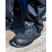 All Black Safety Trainer - size 3 - Black