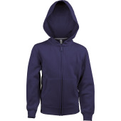 Kinder hooded sweater met rits