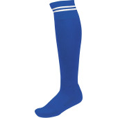 Sportsokken met contraststrepen dark royal blue / white 27/30