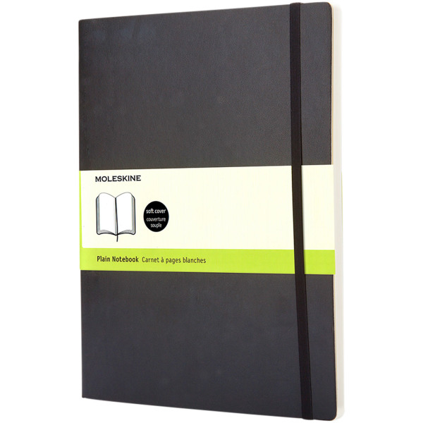Classic XL softcover notitieboek - effen