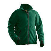 Jobman 5501 Fleece jacket bosgroen 4xl