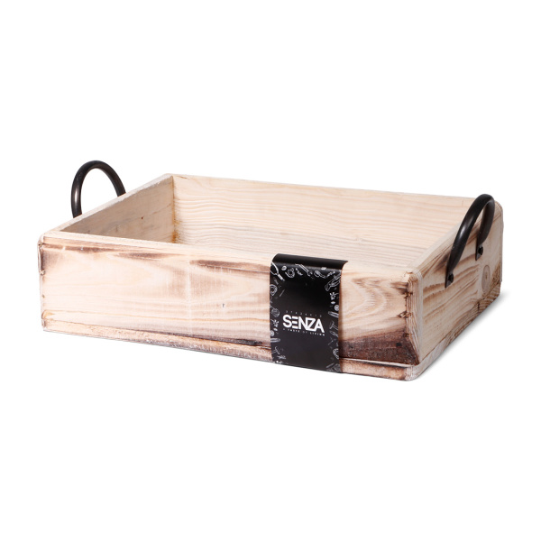 SENZA Multifunctional Wooden Tray Large
