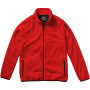 Drop Shot fleece heren jas met ritssluiting - Rood - 3XL