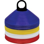 Afbakenkit x 60 royal blue / white / red / yellow 'one size