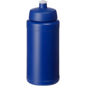 Baseline® Plus 500 ml flaska med sportlock - Blå