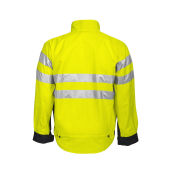 6401 JACKET HV YELLOW/BLACK CL.3 L