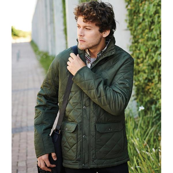 Tyler Diamond Quilted Jacket