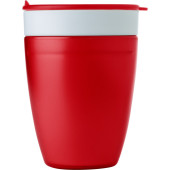 2-in-1 drinkbeker rood