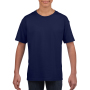Gildan T-shirt SoftStyle SS for kids Cobalt L