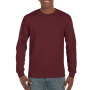 Gildan T-shirt Ultra Cotton LS Maroon S