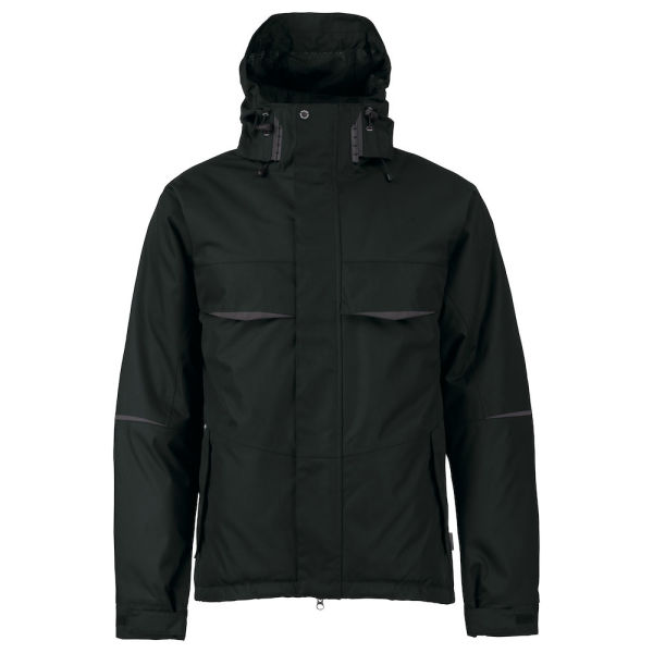 4422 PADDED JACKET SHORT Black XS