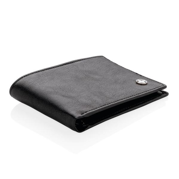 Swiss Peak RFID anti-skimming wallet, black