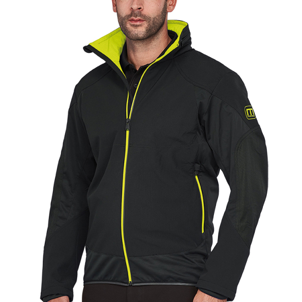 Macseis Jacket Softshell Venture for him Black/GN