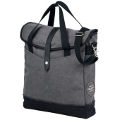 "Hudson 14"" laptop tas - Heather grijs/Zwart"