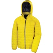 Blizzard padded jacket yellow / navy 3xl
