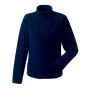 Dames Fitted Full Zip Microfleece M French Navy