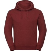 Authentic hooded melange sweatshirt brick red melange 3xl