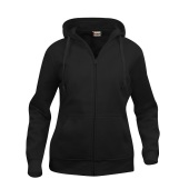 Basic Hoody Full Zip Ladies Sweatshirts