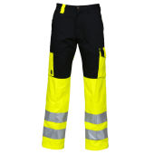PROJOB 6501 PANTS HV YELLOW/BLACK CL.2 96